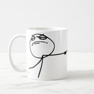 GTFO Get Out Guy Rage Face Comic Meme Coffee Mug