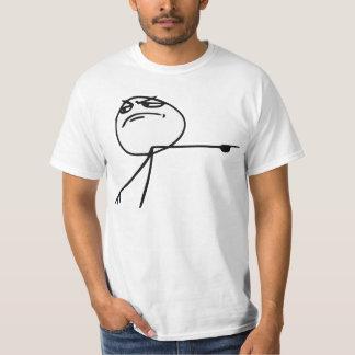 GTFO Get Out Guy Rage Face Comic Meme Tee Shirt