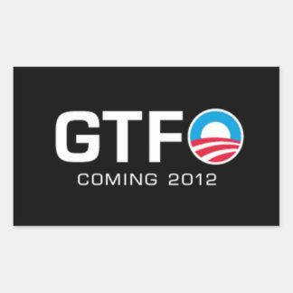 GTFO - Viniendo 2012 Rectangular Altavoces