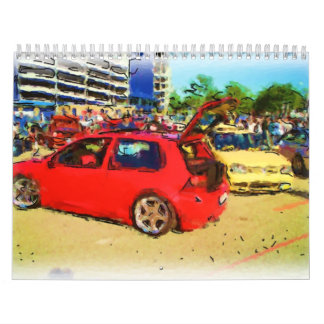 GTI x 2_Painting_In_Color Wall Calendar