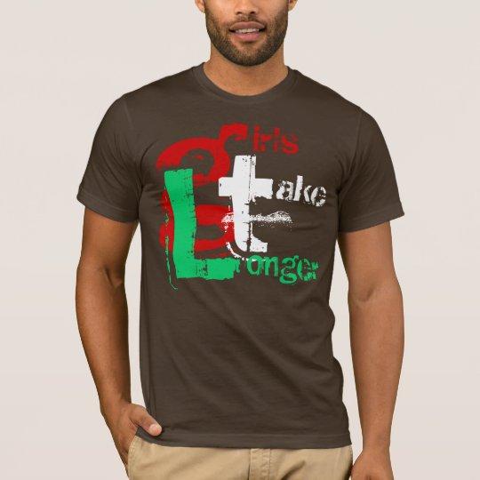 gtL girls take Longer T-Shirt