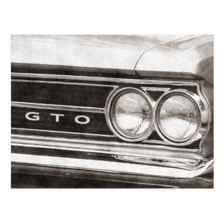 GTO Classic Car Postcard