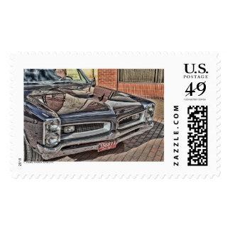 GTO Cuyahoga Falls Ohio Postage