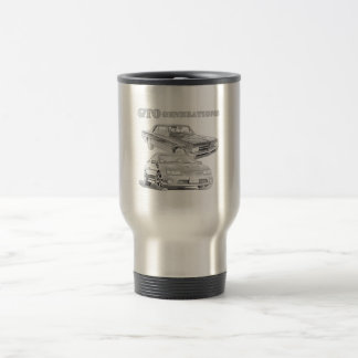 GTO Generations 15 Oz Stainless Steel Travel Mug