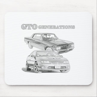 GTO Generations Mouse Pad