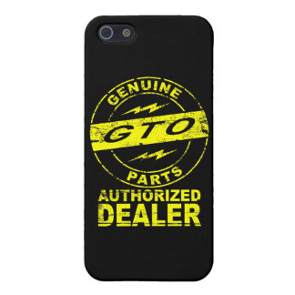 GTO Genuine Parts iPhone Case Cases For iPhone 5