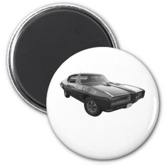 GTO in 1968 2 Inch Round Magnet
