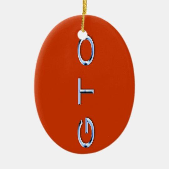 GTO Ornament