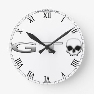 muscle car wall clocks zazzle 1970 Chevy Chevelle SS gto round clock