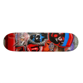 Gts Worldwide Cartoon Skateboard