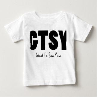 GTSY black Baby T-Shirt