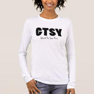 GTSY black Long Sleeve T-Shirt