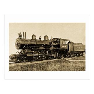 GTW #1502  Baldwin Built 1901 Postcard