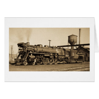 GTW Engine #6039 at Chicago, IL Card