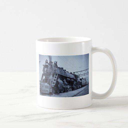 GTW Steam Engine #6335 Train #17 Classic White Coffee Mug