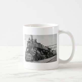 GTW Steam Engine #6335 Train #17 Coffee Mug