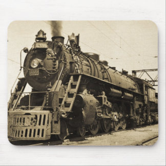 GTW Steam Engine #6335 Train #17 Mouse Pad