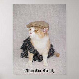 Gu Alba Brath Póster