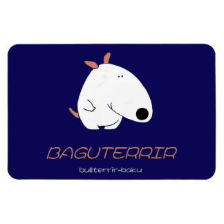 gu te ri a 獏+Bull terrier Magnet