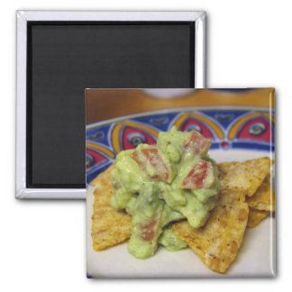 Guac & Chips 2 Inch Square Magnet