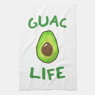 GUAC (Guacamole) LIFE - Green Towel