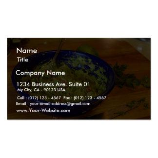 Guacamole Avocados Business Card