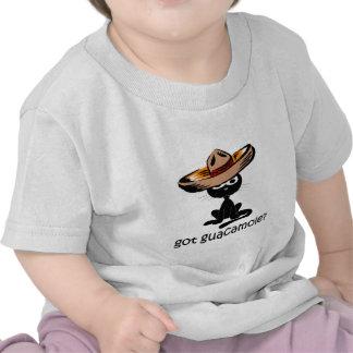 Guacamole conseguido divertido camiseta