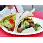 Guacamole del Tacos de Carne Asada Esculturas Fotográficas