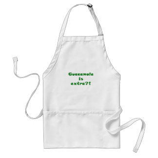 Guacamole is Extra Adult Apron
