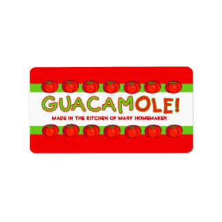 GUACAMOLE Labels for Customizing