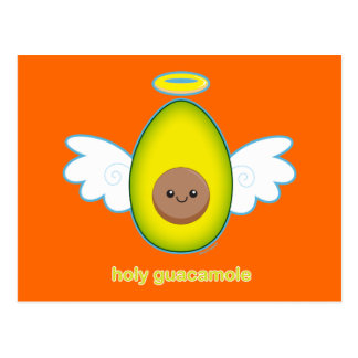 Guacamole santo postal