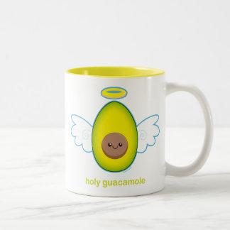 ¡Guacamole santo! Taza De Dos Tonos