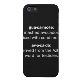 Guacamole Testicles Cases For iPhone 5
