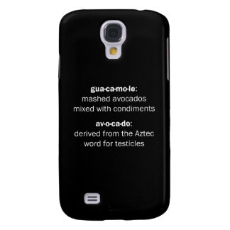 Guacamole Testicles Samsung Galaxy S4 Covers