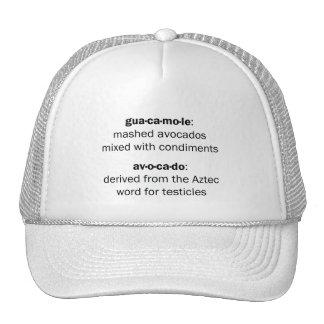 Guacamole Testicles Trucker Hat