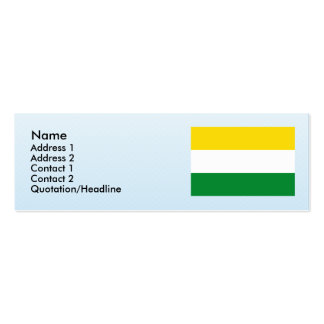Guacari , Columbia Double-Sided Mini Business Cards (Pack Of 20)