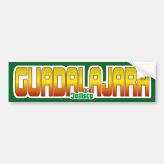 Guadalajara Bumper Car Bumper Sticker