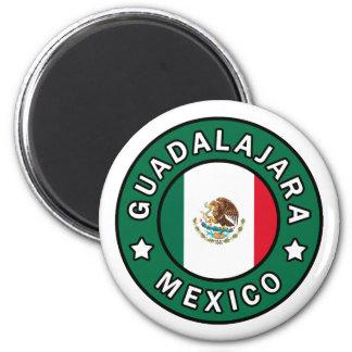 Guadalajara Mexico 2 Inch Round Magnet