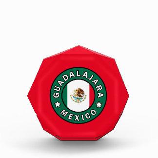 Guadalajara Mexico Acrylic Award