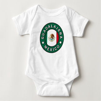 Guadalajara Mexico Baby Bodysuit