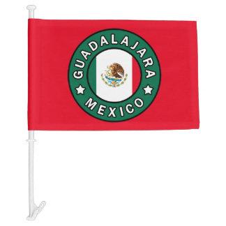 Guadalajara Mexico Car Flag