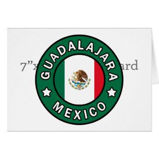 Guadalajara Mexico Card