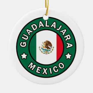 Guadalajara Mexico Ceramic Ornament