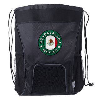 Guadalajara Mexico Drawstring Backpack