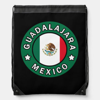Guadalajara Mexico Drawstring Bag