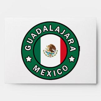 Guadalajara Mexico Envelope