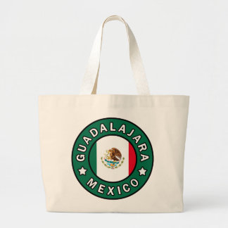 Guadalajara Mexico Large Tote Bag
