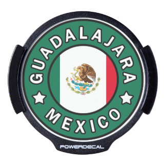 Guadalajara Mexico LED Window Decal