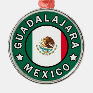 Guadalajara Mexico Metal Ornament