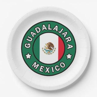 Guadalajara Mexico Paper Plate